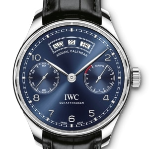 IWC annual calendar the new small eternity