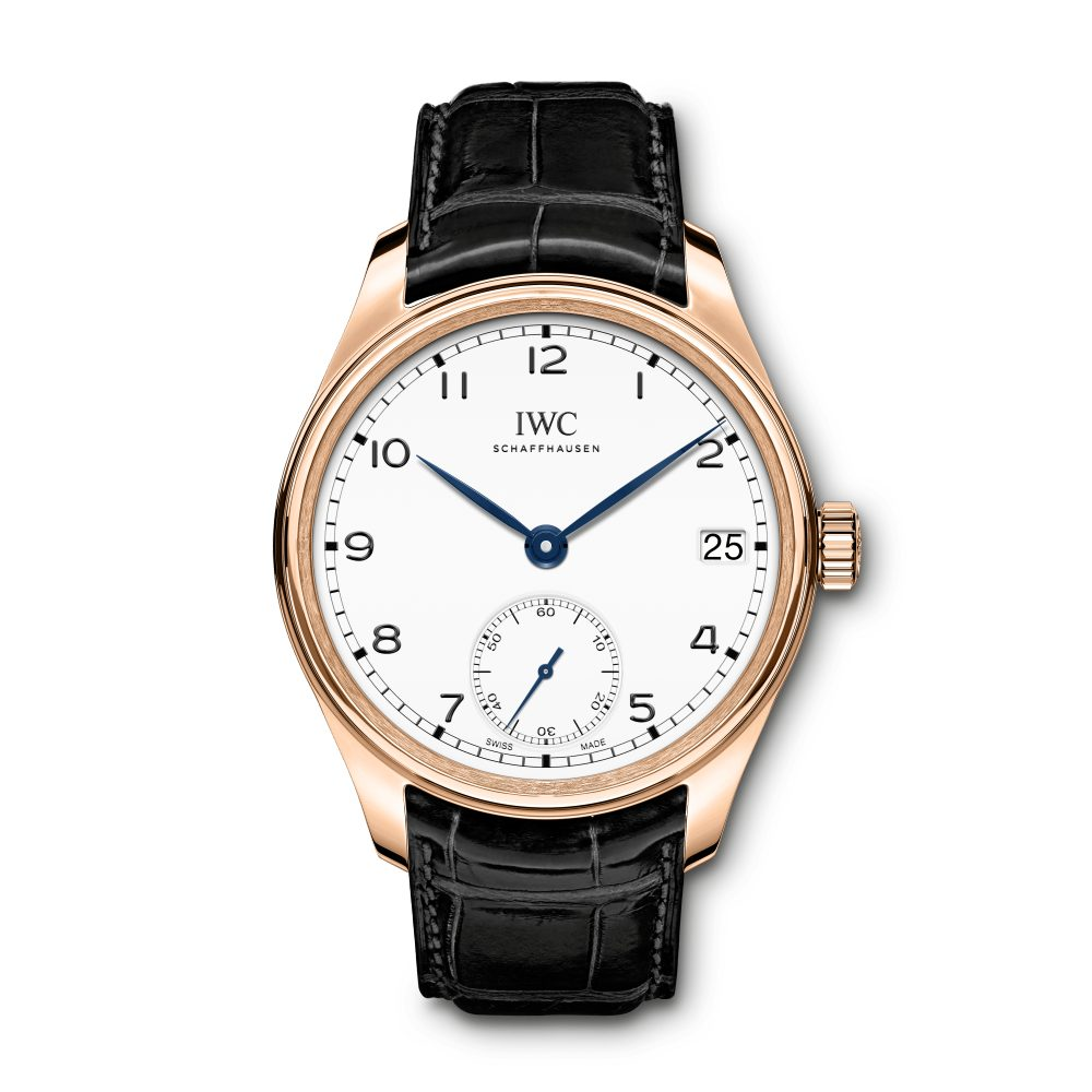 Portugieser Hand-Wound Eight Days Edition «150 Years»