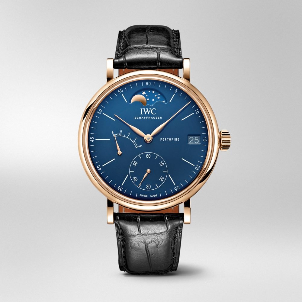 Portofino Hand-Wound Moon Phase Edition «150 Years»