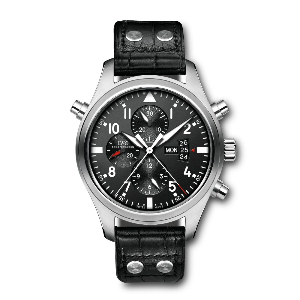 Montre d'Aviateur Double Chronographe