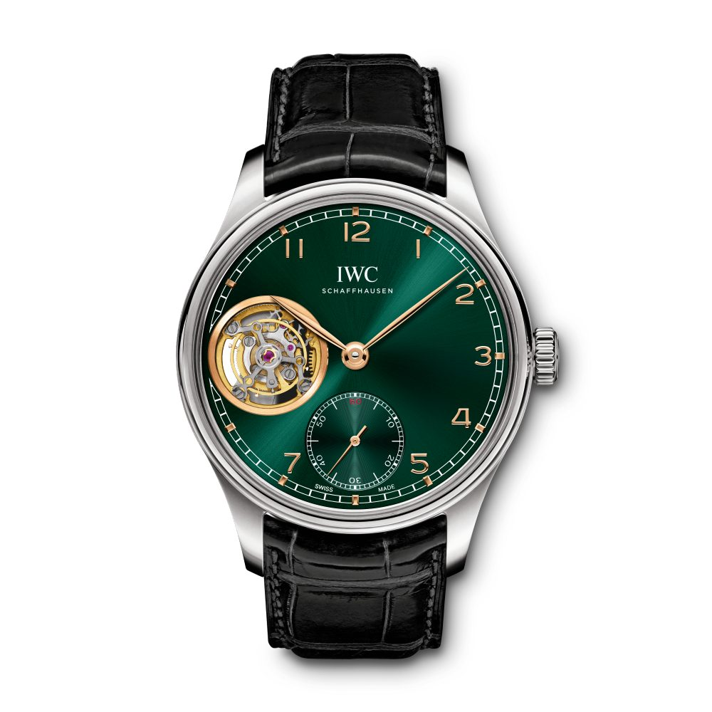 Portugieser Tourbillon Cuerda Manual