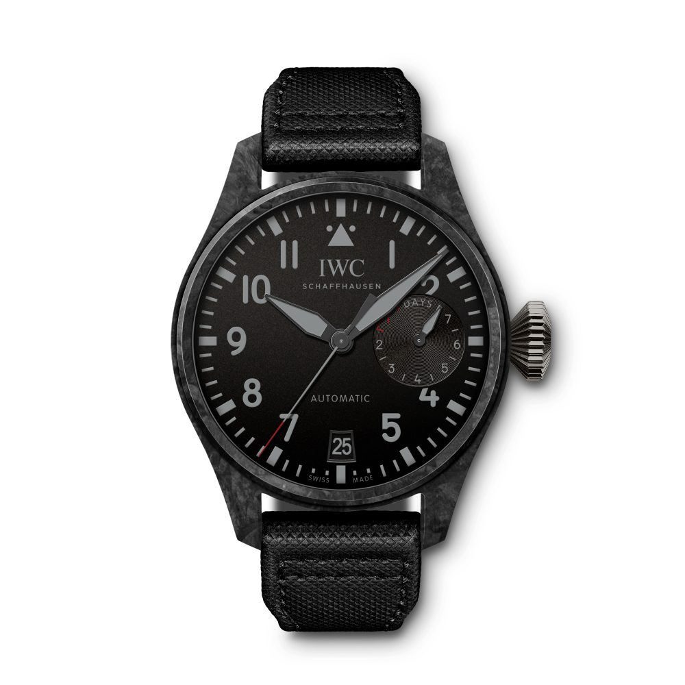 "Big Pilot's Watch Edition ""Black Carbon"""