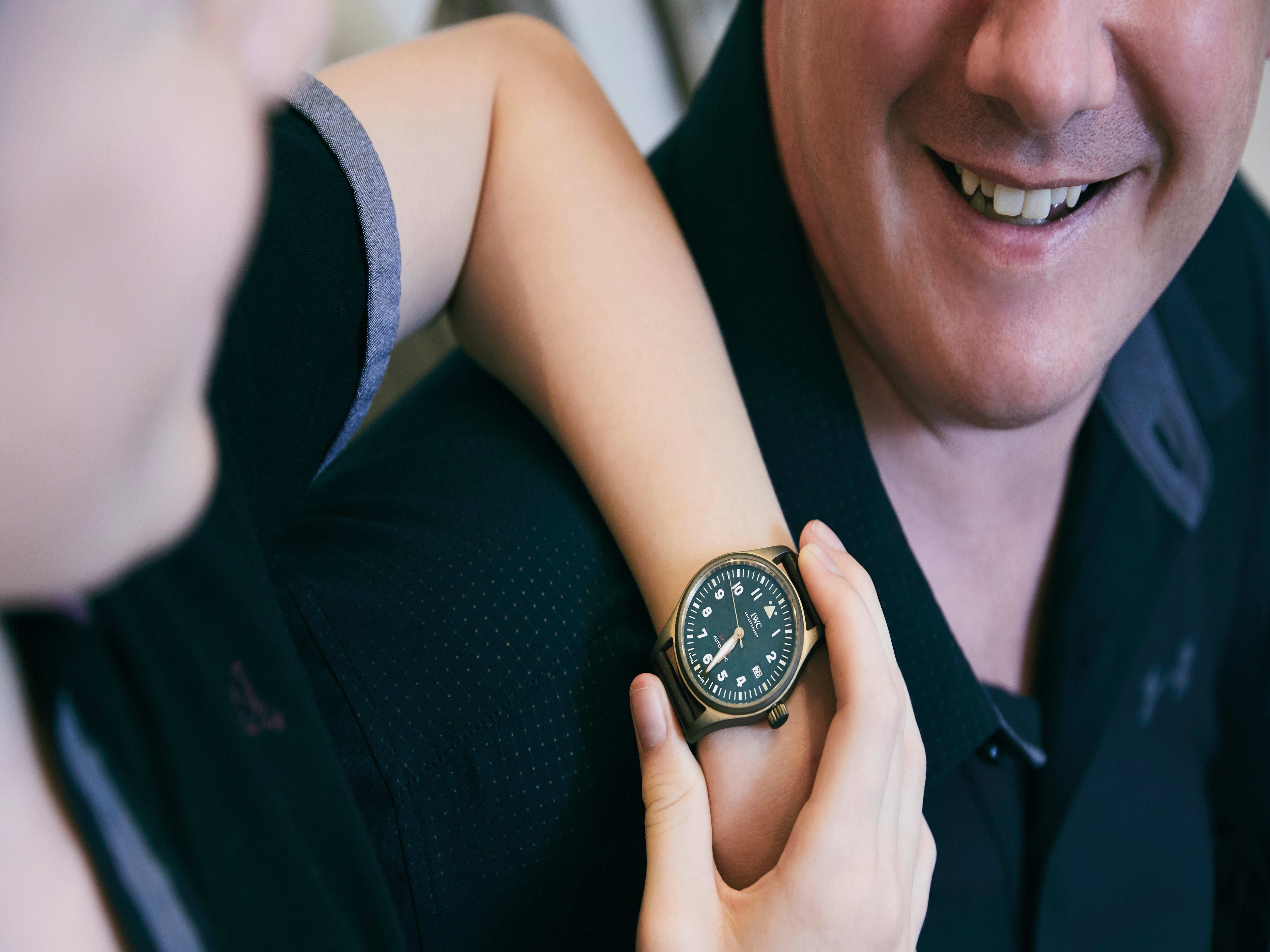 A.J. Ralph tries the IWC Pilot's Watch Automatic Spitfire (IW326802)
